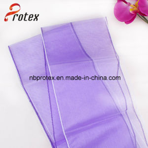 Wedding Wholesale Flower Chair Decoration Organza Sash pictures & photos