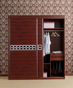 American Cherry Wood Walk in Closet Agw-027