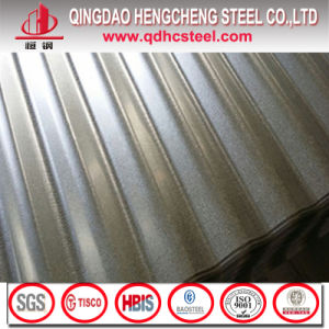 ASTM A792m Anti Finger Galvalume Corrugated Roofing Sheet pictures & photos