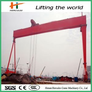 Electric Remote Control Single Girder Gantry Crane pictures & photos