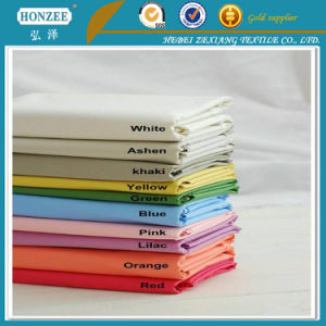 100% Cotton Fabric Pocketing Poly Cotton / Cotton Interlining pictures & photos