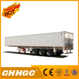 Best Price 3 Axle Van-Type Cargo Semi-Trailer pictures & photos