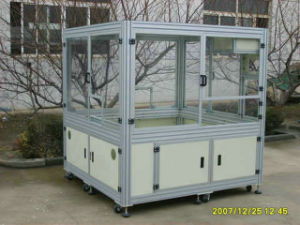Aluminum Extrusion Profile Display Cabint pictures & photos