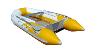 V Shape Bottom Inflatable Boat with CE Certificate/PVC/Aluminum