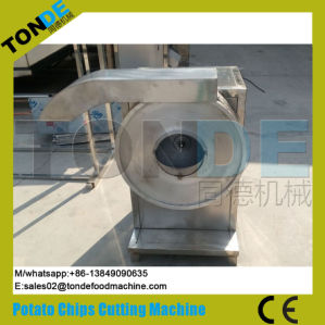 Industrial Gas Heating Wavy Potato Crisps Chips Making Machine pictures & photos