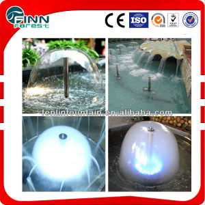 Water Mushroom Shaped Stainless Steel Fountain Nozzle pictures & photos