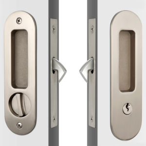 Modern Round Face High Security Sliding Glass Door Key Lock pictures & photos