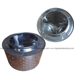 Sheet Drawing Metal Parts of Drying Machine (J03) pictures & photos