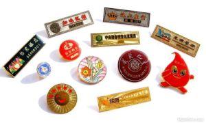 Custom Metal Name Badge pictures & photos
