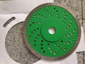 Diamond Turbo Saw Blade with Flange