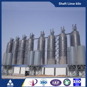 Anthracite or Gas Burning Hot Sale Vertical Shaft Lime Kiln pictures & photos