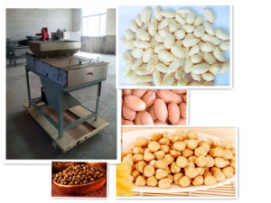 400kg/H Peanut Dry Peeling Machine/Dry Way Skin Removing Machine