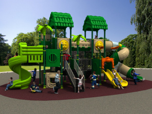2017 Children Kids Outdoor/Indoor Playground with TUV-GS\Ce\En 1176\SGS\Ohsas18001\ISO9001\ISO14001 Certificate Woods Series (HD15A-022A) pictures & photos