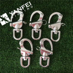 Stainless Steel Snap Shackle with Swivel or Fixed Eye pictures & photos