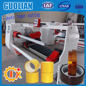 Gl-701 Full Automatic Printable Gummed Automatic Cloth Tape Cutting Machine pictures & photos