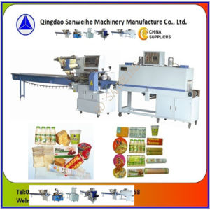 SWC-590 Swd-2000 Heat Shrink Automatic Flow Wrapping Packing Machine pictures & photos