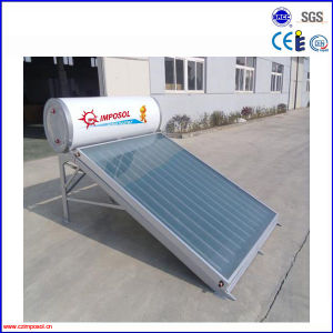Flat Plate Solar Collector with Solar Hot Water Tank pictures & photos