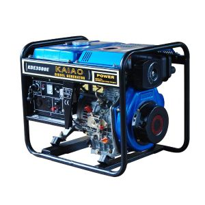 2.8-3kw Open Type Key Starting Diesel Generator pictures & photos
