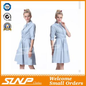 Ladies Cotton Women Sleeveless Dress Clothing pictures & photos