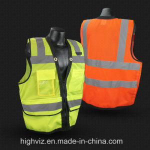 High Quality Reflective Vest with ANSI07 (C2024) pictures & photos