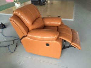 Brown Color Recliner Sofa for Living Room (720) pictures & photos