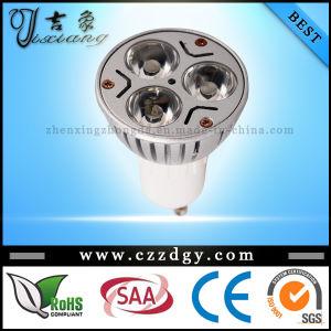 Dimmable GU10 3X3w Warm White LED Spotlight 110-240V