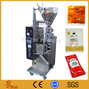 Vertical Cream Packaging Machine/Sauce/Ketchup Vertical Filler pictures & photos