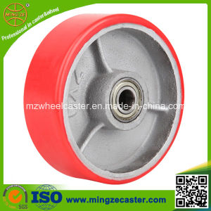"Mingze 6"" Pallet PU Wheel, Heavy Duty Caster pictures & photos"