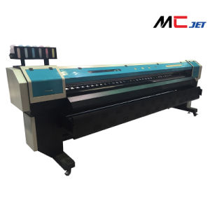 1.9m Large Format Eco Solvent Digital Printer Machinery with Epson Dx10 for Banner pictures & photos