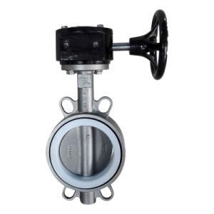 Lug Type Stainless Steel Butterfly Valve with Lever Operator pictures & photos