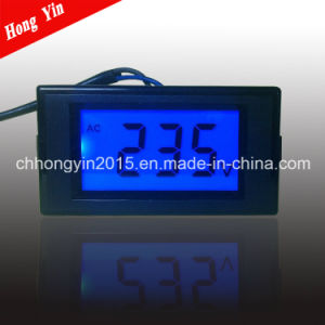 LCD AC 100-500V High Precise Digital Panel Voltage Meter pictures & photos
