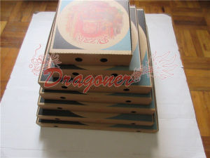 Locking Corners Pizza Box for Stability and Durability (CCB018) pictures & photos