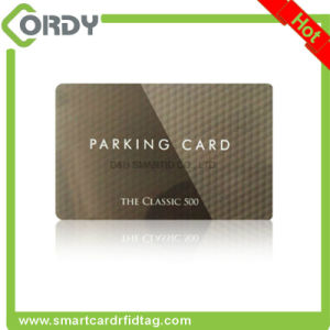 logo printed MIFARE Classic 1k bytes 13.56MHz RFID card pictures & photos