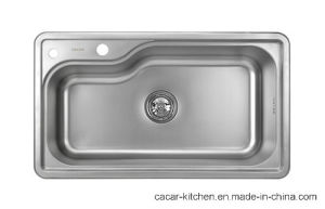 Cacar High Quality Single Irregular Bowl Kitchen Sink (CCL-7845B) pictures & photos