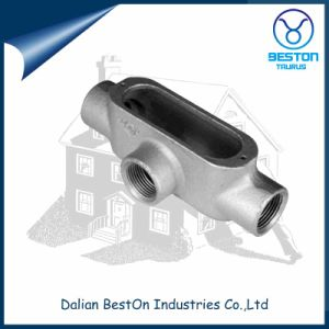 Water Proof Electrical Malleable Iron Rigid Conduit Box T Type pictures & photos