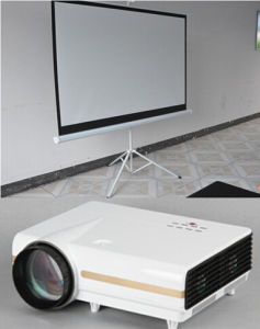 Tripod Projector Screen Tripod Projection Screen pictures & photos