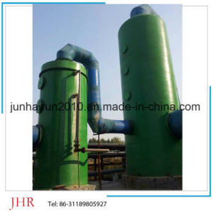 FRP GRP Industry So2 and No Gas Purify Absorption Srubber Tower Details pictures & photos