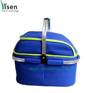 New Portable Cooler Bag, Shopping Basket (YSCB08-002) pictures & photos