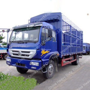 China 2 Axles Light Stake Fence Cargo Truck for Sale pictures & photos