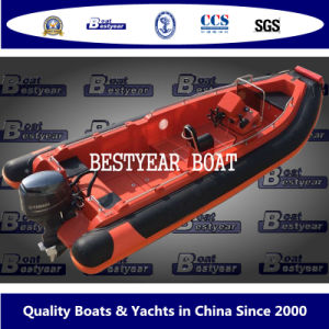 Bestyear 2016 New Rib580e Boat pictures & photos