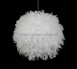 Home Decoration LED Feather Pendant Lamp with White, Pink, Rose Red Color pictures & photos