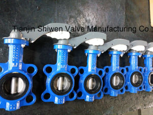 Awwa C504 Wafer Type Butterfly Valve with Lever pictures & photos
