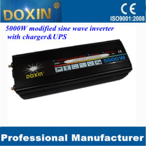 Power Inverter 5000watt DC12V AC220V with UPS&Charger pictures & photos