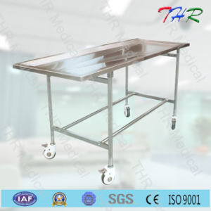 Stainless Steel Embalming Funeral Table (THR-103) pictures & photos