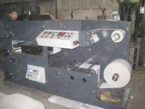 Rtry-520b Aluminium Foil Label Printing Machine 2 Color Flexo Printer pictures & photos