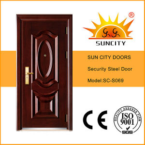 Classic Design Safety Apartment Entrance Door (SC-S069) pictures & photos