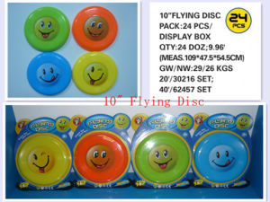 "10"" Children Plastic Flying Disc Toys, Sport Toys"