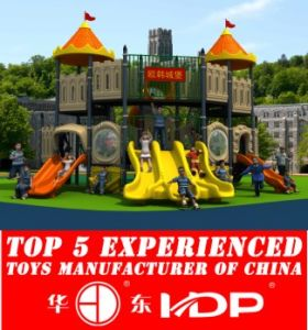 Outdoor Plastic Multi-Functional Slide Combination Slide for Kids (HD15A-018A) pictures & photos