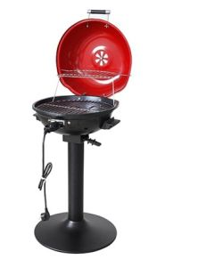 Portable Stand BBQ Grill with Extral Warming Rack