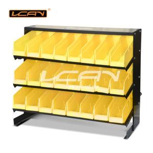 24-Piece Storage Bin Racks With Yellow Removable Bins (HT-B009)